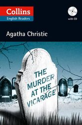 Agatha Christie's B2. Murder at the Vicarage with Audio CD - фото обкладинки книги