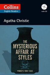 Agatha Christie's B2. Mysterious Affair at Styles with Audio CD - фото обкладинки книги