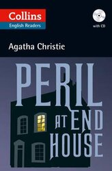 Agatha Christie's B2. Peril at End House with Audio CD - фото обкладинки книги