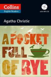 Agatha Christie's B2. Pocket Full of Rye with Audio CD - фото обкладинки книги