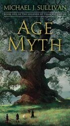 Age Of Myth. Book One of The Legends of the First Empire - фото обкладинки книги