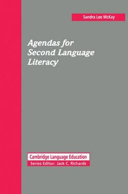 Agendas for Second Language Literacy - фото книги