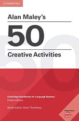 Alan Maley's 50 Creative Activities - фото обкладинки книги