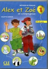 Alex et Zoe 1. CD audio - фото обкладинки книги