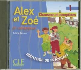 Alex et Zoe 1. CD audio individuelle (аудіодиск до робочого зошита) - фото книги