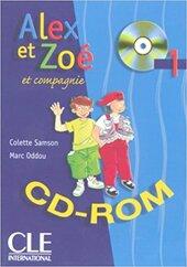 Alex et Zoe 1. CD-ROM (інтерактивний комп'ютерний диск) - фото обкладинки книги