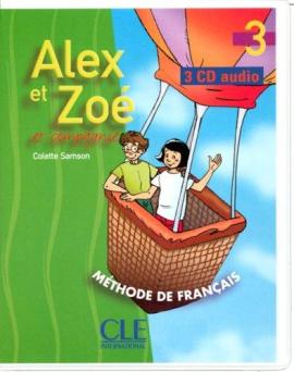 Alex et Zoe 3. CD audio - фото книги