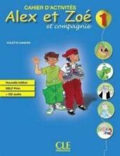 Alex et Zoe Nouvelle 1 Livre de Leleve+Livret de civilisation (підручник) - фото обкладинки книги