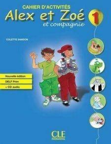 Alex et Zoe Nouvelle 1 Livre de Leleve+Livret de civilisation (підручник) - фото книги
