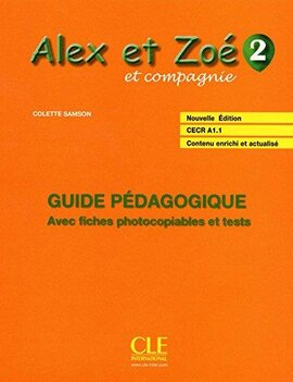 Alex et Zoe Nouvelle 2. Guide pedagogique - фото книги