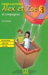 Alex et Zoe Nouvelle 3 Cahier d'activite's + CD audio DELF Prim (підручник+аудіодиск) - фото обкладинки книги