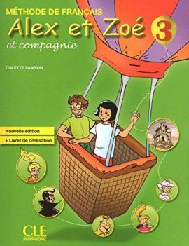 Alex et Zoe Nouvelle 3 Livre de Leleve + Livret de civilisation (підручник+аудіодиск) - фото книги
