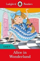 Alice in Wonderland - Ladybird Readers Level 4 - фото обкладинки книги