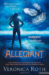 Allegiant - фото обкладинки книги