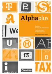 Alpha plus Basiskurs A1/1. Handreichungen fr den Unterricht (роздаткові матеріали для уроку) - фото обкладинки книги