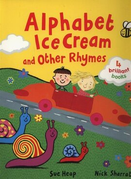 Alphabet Ice Cream and other rhymes - фото книги