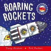 Amazing Machines: Roaring Rockets - фото обкладинки книги