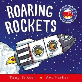 Amazing Machines: Roaring Rockets - фото книги