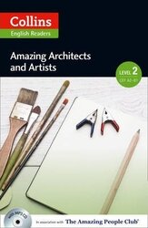 Amazing People Club. Amazing Architects & Artists with Mp3 CD. Level 2 - фото обкладинки книги