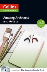 Amazing People Club. Amazing Architects & Artists with Mp3 CD. Level 2 - фото обкладинки книги