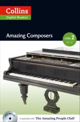 Amazing People Club. Amazing Composers with Mp3 CD. Level 2 - фото обкладинки книги