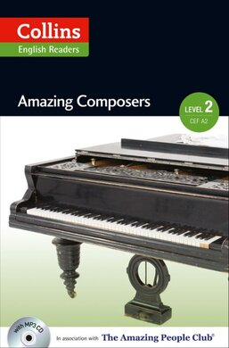 Amazing People Club. Amazing Composers with Mp3 CD. Level 2 - фото книги