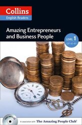 Amazing People Club. Amazing Entrepreneurs & Business People with Mp3 CD Level 1 - фото обкладинки книги