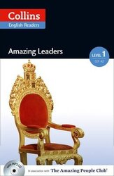 Amazing People Club. Amazing Leaders with Mp3 CD. Level 1 - фото обкладинки книги