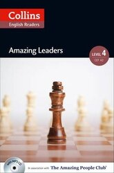 Amazing People Club. Amazing Leaders with Mp3 CD. Level 4 - фото обкладинки книги