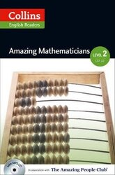 Amazing People Club. Amazing Mathematicians with Mp3 CD. Level 2 - фото обкладинки книги