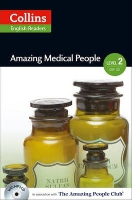 Amazing People Club. Amazing Medical People with Mp3 CD. Level 2 - фото книги