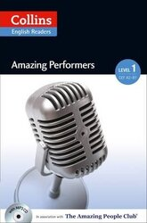 Amazing People Club. Amazing Performers with Mp3 CD. Level - фото обкладинки книги
