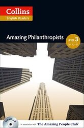 Amazing People Club. Amazing Philanthropists with Mp3 CD. Level 3 - фото обкладинки книги