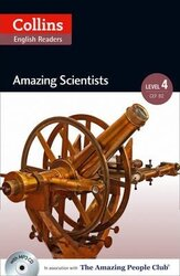 Amazing People Club. Amazing Scientists with Mp3 CD. Level 4 - фото обкладинки книги