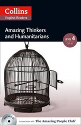 Amazing People Club. Amazing Thinkers & Humanitarians with Mp3 CD. Level 4 - фото обкладинки книги