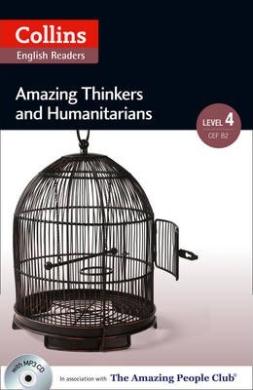 Amazing People Club. Amazing Thinkers & Humanitarians with Mp3 CD. Level 4 - фото книги