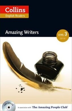 Amazing People Club. Amazing Writers with Mp3 CD. Level 3 - фото книги