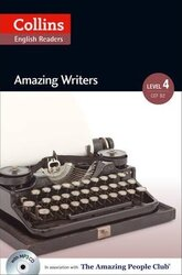 Amazing People Club. Amazing Writers with Mp3 CD. Level 4 - фото обкладинки книги
