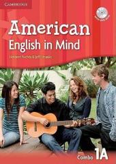 American English in Mind Level 1. Combo A + DVD-ROM - фото обкладинки книги