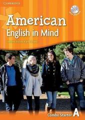 American English in Mind Starter. Combo A + DVD-ROM - фото обкладинки книги
