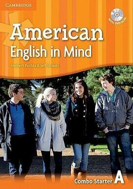 American English in Mind Starter. Combo A + DVD-ROM - фото книги