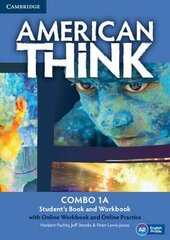 American Think 1. Combo A with Online Workbook & Online Practice - фото обкладинки книги
