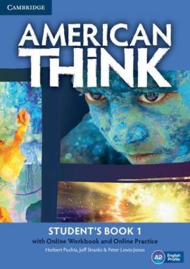 American Think 1. Student's Book with Online Workbook & Online Practice (підручник + робочий зошит онлайн) - фото книги