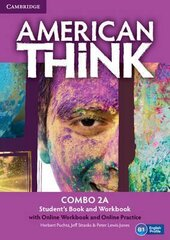 American Think 2. Combo A with Online Workbook & Online Practice - фото обкладинки книги