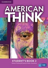 American Think 2. Student's Book - фото обкладинки книги