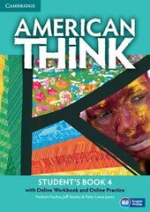 American Think Level 4 Student's Book with Online Workbook and Online Practice - фото обкладинки книги
