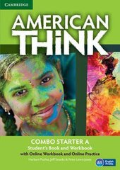 American Think Starter. Combo A with Online Workbook & Online Practice - фото обкладинки книги
