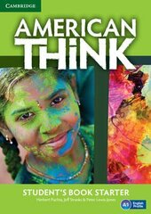 American Think Starter. Student's Book - фото обкладинки книги