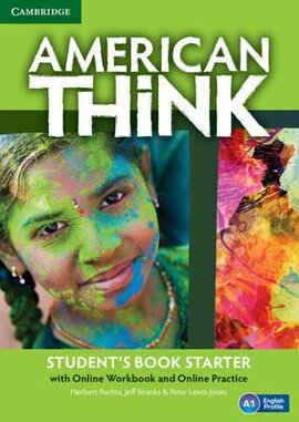 American Think Starter. Student's Book with Online Workbook & Online Practice (підручник + робочий зошит онлайн) - фото книги