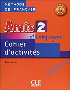 Amis et compagnie 2 Cahier dactivities (робочий зошит) - фото книги